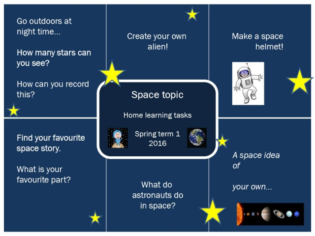 Space home learning