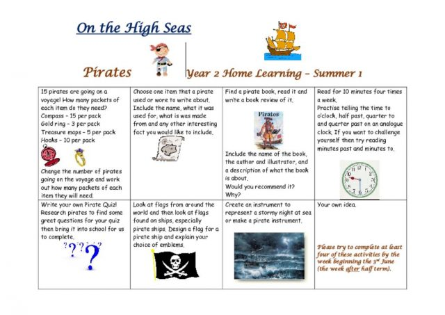 thumbnail of Pirates homework grid Sum 1 2019