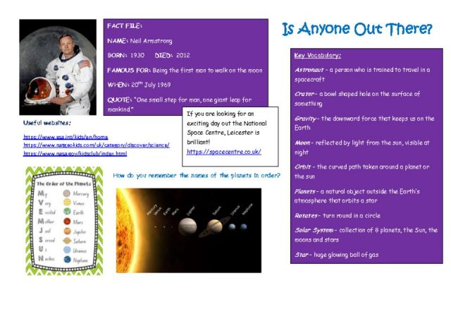 thumbnail of Space topic taster