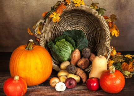 The Harvest Festival and the Month of Plenty - Harts Barn Cookery School